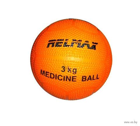 Медбол 3 кг (резина) — фото, картинка