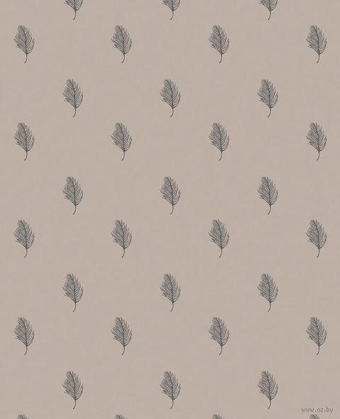 """Простыня хлопковая """"Перья"""" (220х240 см) — фото, картинка"""