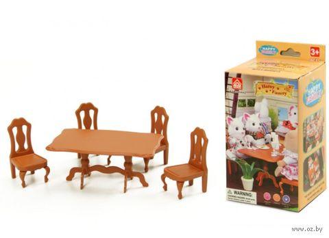 """Набор мебели для кукол """"Обеденный"""" — фото, картинка"""