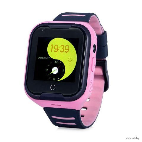 Умные часы Wonlex KT11 4G (розовые) — фото, картинка