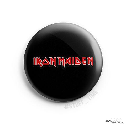 """Значок маленький """"Iron Maiden"""" (арт. 3655) — фото, картинка"""
