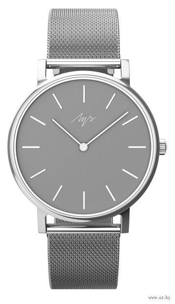"""Часы наручные """"Elegance"""" (серебристые; арт. 98370673) — фото, картинка"""