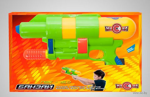 """Водяной пистолет """"Банзай. КБ-8"""" — фото, картинка"""