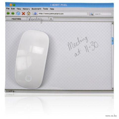 "Коврик для мыши + блокнот для записей ""Mouse Pad"""