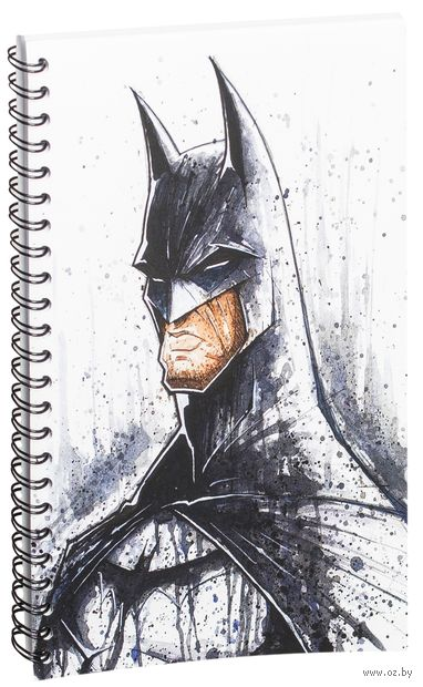 """Блокнот в клетку """"Бэтмен"""" A5 (446)"""