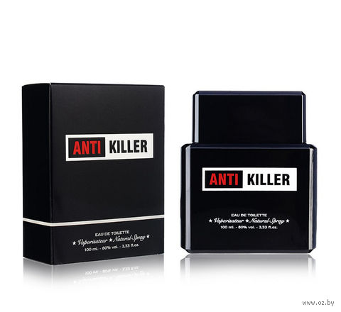 "Туалетная вода для мужчин ""Antikiller"" (100 мл) — фото, картинка"