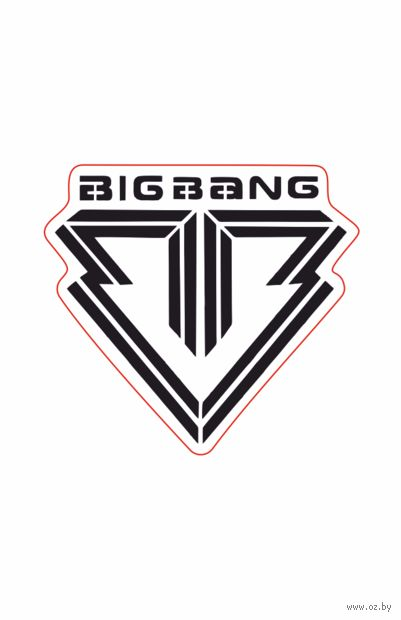 "Наклейка ""Big Bang. Logo"" (арт. 17) — фото, картинка"