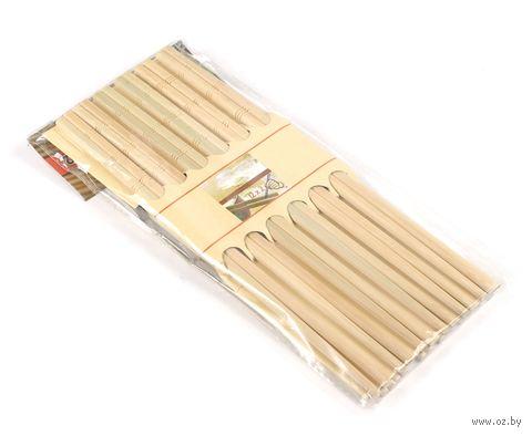 Набор палочек для еды деревянных (12 пар) — фото, картинка
