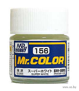 Краска Mr. Color (super white, C156)