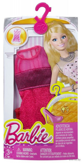 """Одежда для куклы """"Барби. Красное платье"""""""
