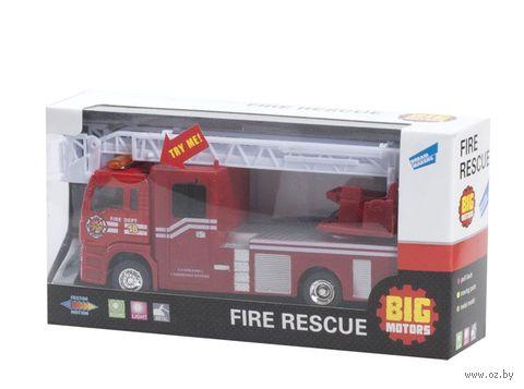 """Пожарная машина инерционная """"Fire rescue"""" (арт. JL81016) — фото, картинка"""
