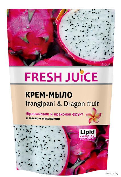 """Жидкое мыло """"Франжипани и драконов фрукт"""" (460 мл, дой-пак) — фото, картинка"""