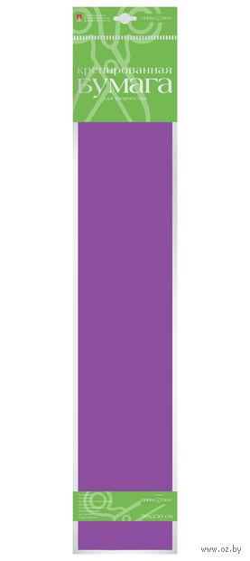 Бумага креповая (50х250 см; сиреневая) — фото, картинка