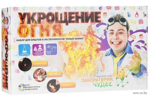 """Набор для опытов """"Укрощение огня"""" — фото, картинка"""