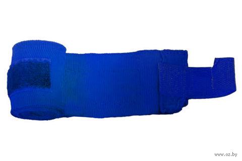 Бинт боксёрский С-311 (4,5 м; эластик; синий) — фото, картинка