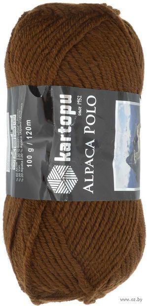 """Пряжа """"KARTOPU. Alpaca Polo №К891"""" (100 г; 120 м; шоколад) — фото, картинка"""