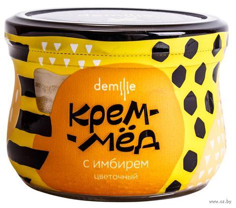 """Крем-мёд """"Demilie. С имбирем"""" (230 г) — фото, картинка"""