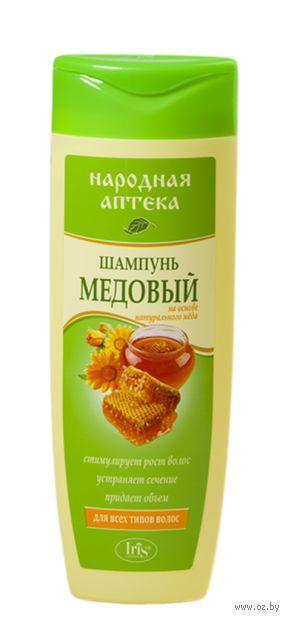 """Шампунь для волос """"Медовый"""" (400 мл) — фото, картинка"""