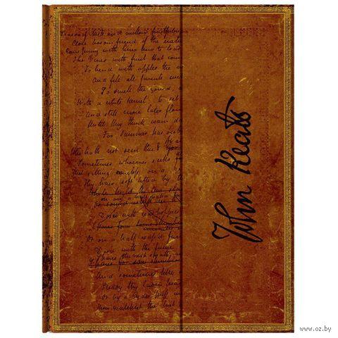 """Записная книжка Paperblanks """"Джон Китс. Ода к Осени"""" в линейку (формат: 180*230 мм, ультра)"""