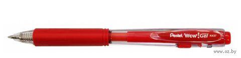 """Ручка гелевая красная """"Wow! Gel"""" (0,7 мм)"""