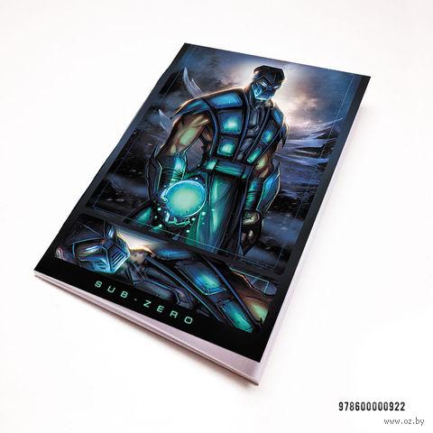 "Блокнот белый ""Mortal Kombat"" А7 (922)"