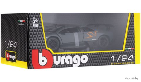 "Модель машины ""Bburago. Lamborghini Murcielago LP 670-4 SV"" (масштаб: 1/24) — фото, картинка"