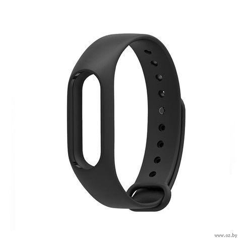 Ремешок для Xiaomi Mi Band 2 (черный) — фото, картинка
