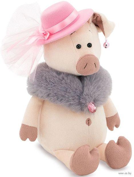 "Мягкая игрушка ""Мадам Свинкина"" (30 см) — фото, картинка"