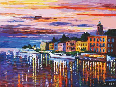 """Картина по номерам """"Озеро Комо-Белладжио"""" (600х800 мм)"""