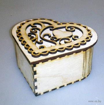 "Шкатулка ""Сердце"" (арт. МВ00028) — фото, картинка"