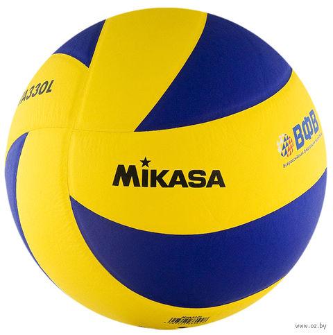 Мяч волейбольный Mikasa MVA 330 L — фото, картинка