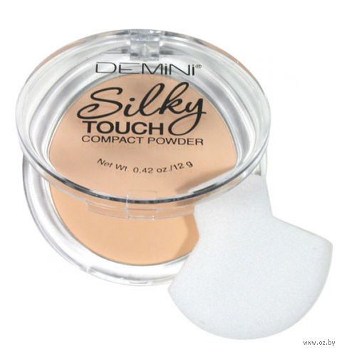 "Компактная пудра для лица ""Silky Touch"" тон: 02 — фото, картинка"