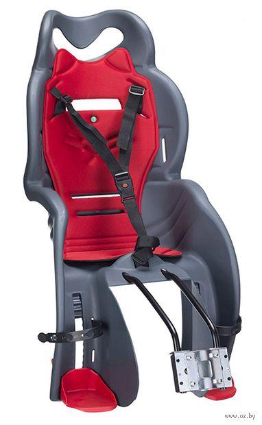 """Кресло велосипедное детское """"SANBAS T"""" (тёмно-серое) — фото, картинка"""