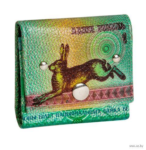 """Монетница прямоугольная """"Зайчик"""" — фото, картинка"""
