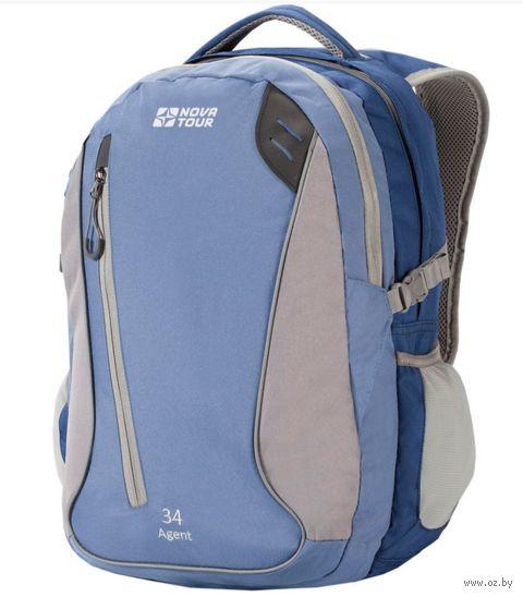 """Рюкзак """"Агент 34"""" (34 л; синий) — фото, картинка"""
