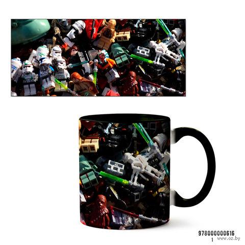 """Кружка """"Лего. Звездные войны"""" (черная) — фото, картинка"""