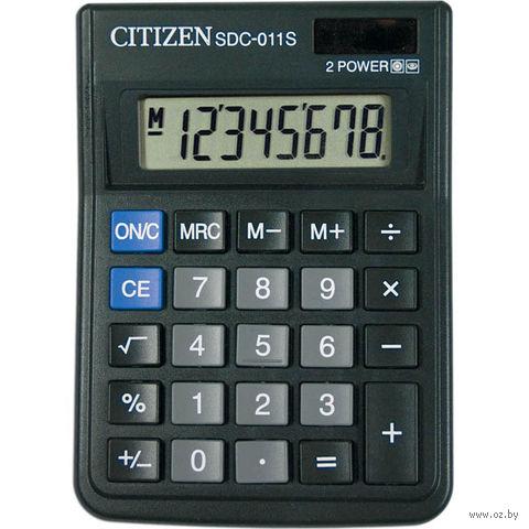 Калькулятор настольный SDC-011S (8 разрядов)