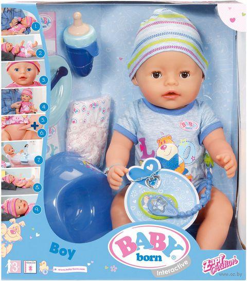 "Интерактивная кукла ""Baby Born. Мальчик"" — фото, картинка"
