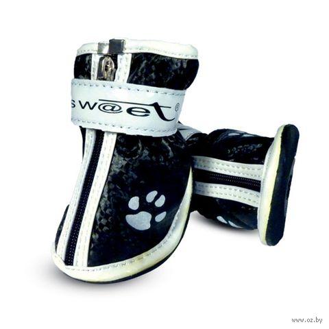 """Ботинки с """"лапками"""" (6х5х6,5 см; черные) — фото, картинка"""