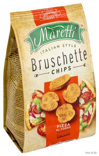 "Сухарики ""Bruschette. Пицца"" (70 г) — фото, картинка"