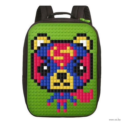 "Рюкзак ""Canvas Classic Pixel"" (зелёный) — фото, картинка"