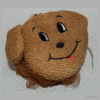 "Мочалка текстильная ""Игрушка"" (11х11 см, арт. 5108-3017B)"