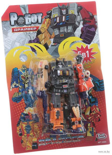 """Робот-трансформер """"Драйвер. 5 в 1"""" (арт. Л39845)"""