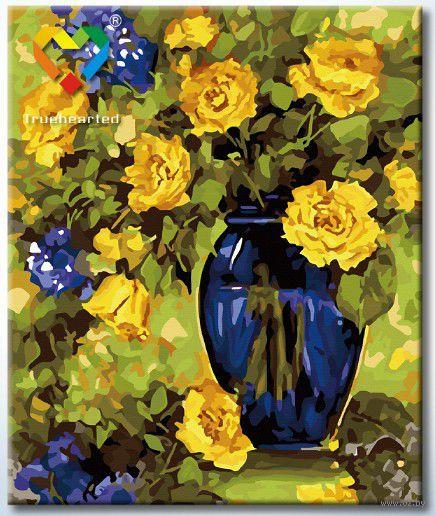 "Картина по номерам ""Желто-синий натюрморт"" (500x600 мм; арт. HB5060004)"