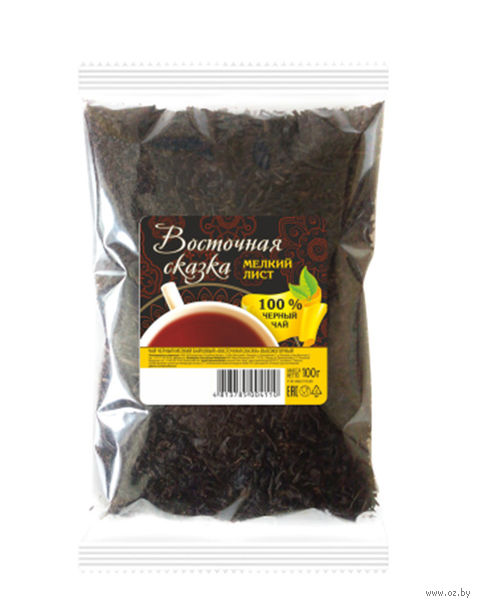 """Чай черный листовой """"Восточная сказка. Высокогорный"""" (100 г) — фото, картинка"""