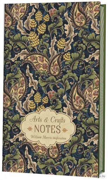 "Блокнот ""Arts&Crafts Notes William Morris Inspiration"" (126х200; зеленая) — фото, картинка"