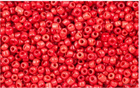 Бисер №45 (красный; 11\0) — фото, картинка