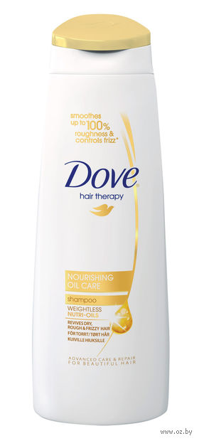 "Шампунь для волос DOVE Hair Therapy ""Питающий уход"" (400 мл)"