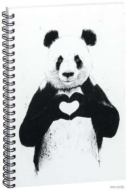 """Блокнот в клетку """"Панда"""" (A5; арт. 512) — фото, картинка"""