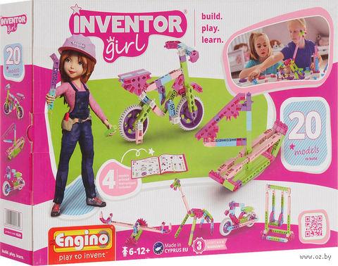 """Конструктор """"Inventor Girl. 20 моделей"""" (106 деталей) — фото, картинка"""
